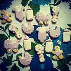 Galletas de bebé para bautizo