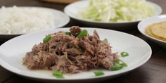 This Slow Cooker Hawaiian Pulled Pork, aka Kalua Pig, is probably my favorite recipe for pork. It's reminiscent of the pulled pork you'd enjoy at