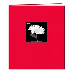 8 1/2 #inch by 11 inch fabric frame cover memory book with 10 top loading page protectors and 10 heavy white paper inserts. The book accepts unlimited refills an...