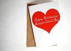 10 Beautifully Bitter, Down-With-Valentine's Day Cards | Apartment Therapy