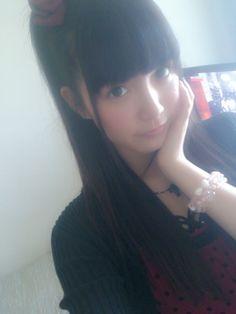 Himeka Nakamoto (older sister of Suzuka Nakamoto) from her blog ひめたん-OoO-その479 | 乃木坂46 中元日芽香 公式ブログ