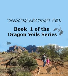 Book cover for Dragons Amongst Men. Now you can find it in Amazon.com