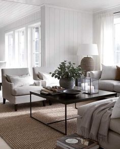 50 Easy And Simple Neutral Living Room Design Ideas. House decoration trends come and go but neutral tones remain the safest option for most individuals and families, or if you're renting, . Room Makeover, Room Interior, Modern Rustic Living Room, Interior Design, Room Remodeling, Apartment Living Room, Living Room Makeover, Modern Living Room, Room Design