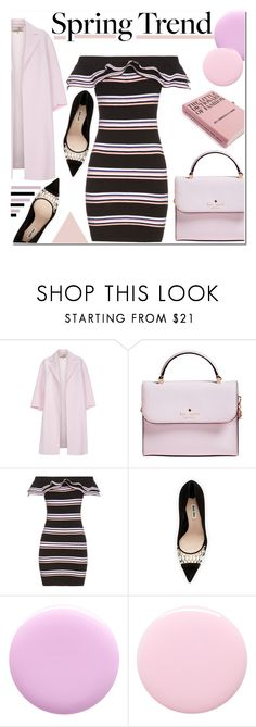 """MSGM"" by samha ❤ liked on Polyvore featuring Paul Smith, Kate Spade, MSGM, Miu Miu, Deborah Lippmann, Nails Inc. and ruffles"