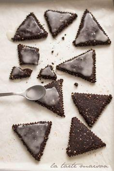 Biscotti al cacao senza burro e olio