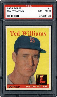 topps ted williams - Google Search