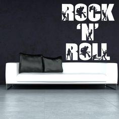 Wandtattoo  -  RocknRoll