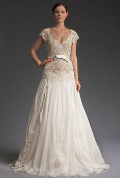 Free Flowing Fall Bridal Gowns For Your Vow Renewal Wedding Dresses
