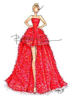 Vestido rojo muy sexy