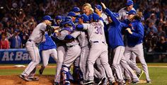 The Mets are World Series bound!