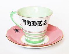 Vodka in a Teacup by yvonneellen on Etsy