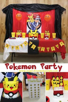DIY Pokemon Party wi