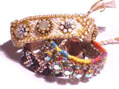 Vintage Rhinestone Friendship Bracelet  PURESSE by PureEssentia, $95.00