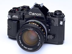 A-1 - April 1978 (The A-1 was the top-of-the-line A-series camera. (The AE-1 was the first in this series.) It was a sophisticated electronic camera with all-digital control.)