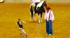 Country Music Lyrics - Quotes - Songs Viral content - Rodeo Clown Picks On 9-Year-Old, But When She Starts Running? Jaws Drop - Youtube Music Videos https://countryrebel.com/blogs/videos/rodeo-clown-picks-on-9-year-old-but-when-she-starts-running-jaws-drop