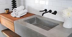 concrete sink, slabhaus, modern sink, mcm sink