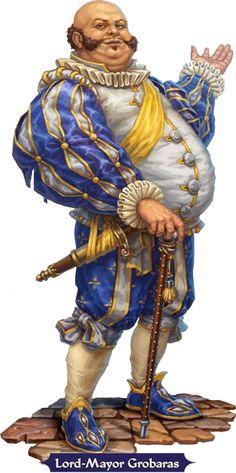 Lord-Mayor Grobaras