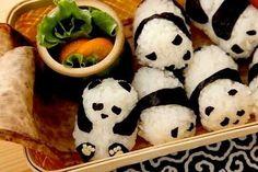 Love. Panda sushi