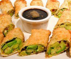 BJ's Restaurant And Brewhouse Avocado Egg Rolls Copycat Recipe