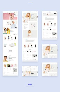Is a flat layout for a fashion store showcase. Is made of a responsive smart grid. And is absolutely free!