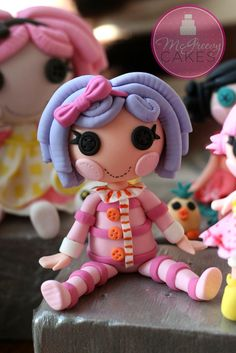 Lalaloopsy Pillow cake topper