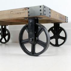 Industrial Coffee Table With Wheels Nice Home Design Marvelous Decorating