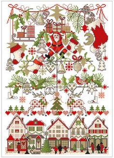 Lindner´s Kreuzstich - No 46 Weihnachtsmarkt | eBay
