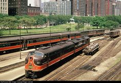 RailPictures.Net Photo: CofG 811 Central of Georgia EMD E8(A) at Chicago, Illinois by Roger Lalonde