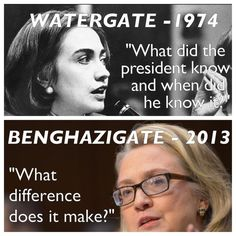 Hillary THEN and NOW-H Y P O C R I T E