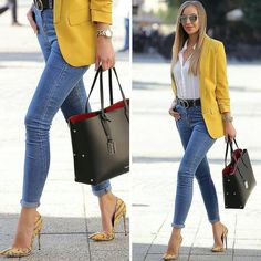 Summer Work Outfits, Casual Work Outfits, Business Casual Outfits, Office Outfits, Work Casual, Casual Chic, Stylish Outfits, Business Attire, Classy Chic