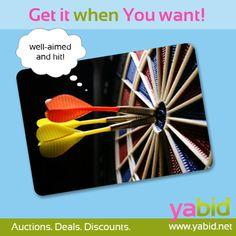 2:1 for Yabid! Every Deal a hit! www.yabid.net