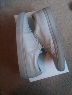 Common Projects Grey Achilles Low Size 9 $180 - Grailed