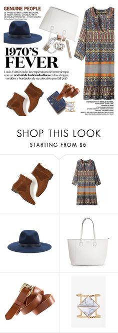 """""""1970s Fever"""" by purpleagony ❤ liked on Polyvore featuring rag & bone, H&M, 70s, Fedora, ankleboots, genuinepeople and Genuine_People"""