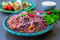 Mexikansk coleslaw - ZEINAS KITCHEN