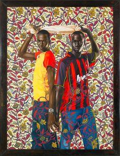 www.cewax aime les vêtements hommes ethniques, Afro tendance, Ethno tribal Men's fashion, african prints fashion -  http://actualites.sympatico.ca/culture/kehinde-wiley-hip-hop-renaissance