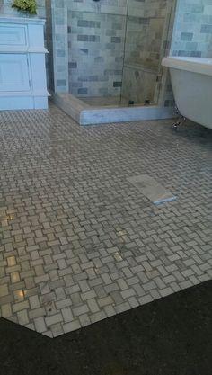 Biltmore Niles marble floor
