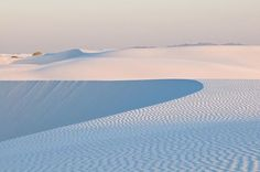 Photo by @michaelclarkphoto // White Sands National Monument near Alamogordo, New Mexico at sunrise. This is one of my favorite places anywhere. It is warm but feels like you are in Antarctica. #whitesands #newmexico #sanddunes #whitesandsnationalmonument