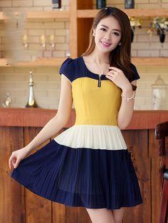 Đầm Váy Xếp Ly