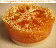 Pamper Me Orange BURST Glycerin Soap With by LeeAnnsHeavenScents, $6.00