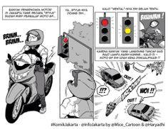 Mice Cartoon, Info Jakarta: MotoGP Wannabe!