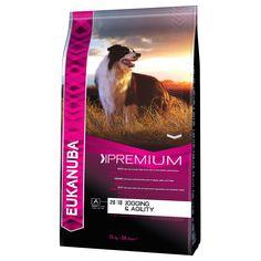 Animalerie Eukanuba Adult Premium Performance Jogging & Agility pour chien 2 x 15 kg