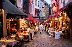 Bruxelles: mangiare per strada in Belgio