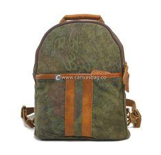 Canvas Bags Rucksack Backpack School Rucksack