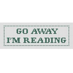 Bookmark Cross Stitch Pattern PDF Funny Snarky by Stitcharific