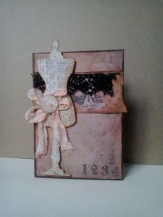 vintage sewing card - Scrapbook.com