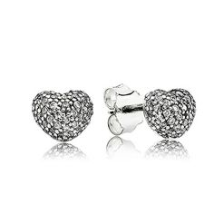 PANDORA | In my heart    No.     290541CZ Metal     Silver Color:     Clear Stone     Cubic zirconia