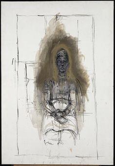 Giacometti Alberto (1901-1966): Caroline Auteur - painting / drawing
