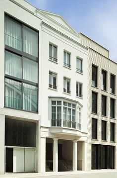 Townhouse 0-11 Urban Architecture, Architecture Details, Hans Kollhoff, Townhouse, Facade, Multi Story Building, House Design, Contemporary, Home