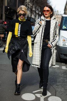Street style à la Fashion Week automne-hiver 2018-2019 de Paris Crédit photo b2ef4dfcee215