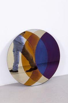 Lex Pott & David Derksen; 'Transience Mirror Circle' for Transnatural Art & Design, 2010s.